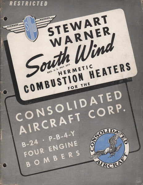 Stewart Warner B-24/PB-4-Y Heating System Manual - 1942