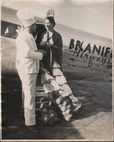 Original Press Photo - Grapefruit via Braniff for Aviation Luncheon - 1936