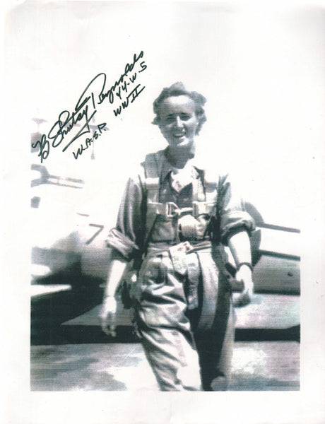 "WASP Florence ""Shutsy"" Reynolds Autographed Photo"