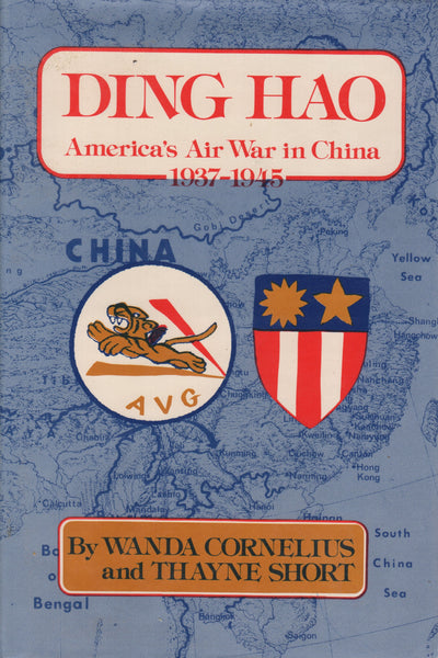 Ding Hao, america's Air War in China, 1937-1945 - 1980