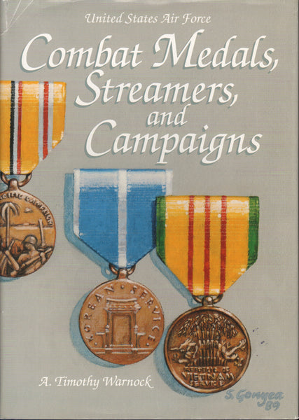 Warnock - USAF Combat Medals, Streamers and Campaigns - 1990