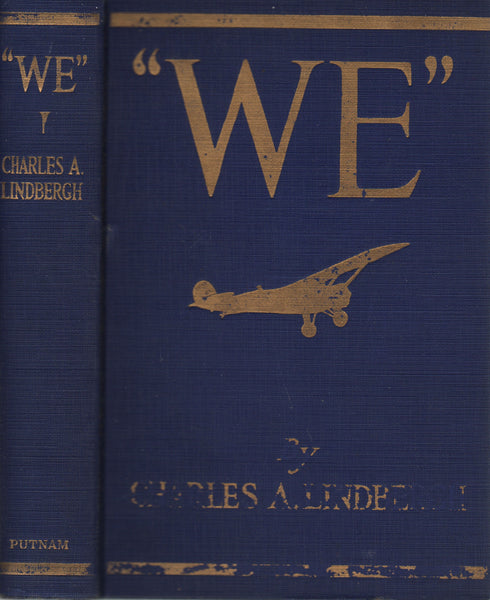"Lindbergh - ""WE"" - 1st Edition 1927"
