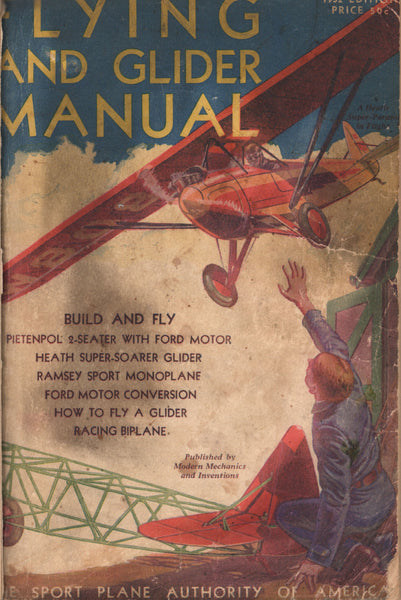 Bound Volume, Flying and Glider Manual for 1932 and 1933.