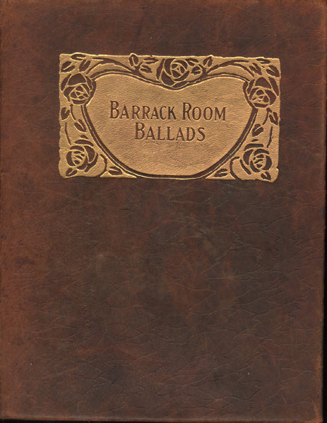 Kipling - Barrack Room Ballads - circa 1910