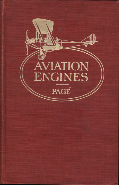 "Page' - Aviation Engines - 1917 ""censored"""