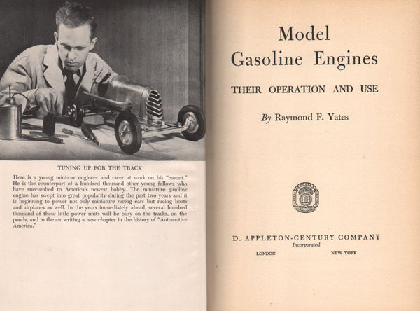 Yates - Model Gasoline Engines - 1941