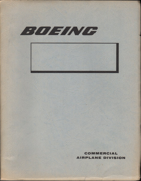 Boeing Design Manual - 1964