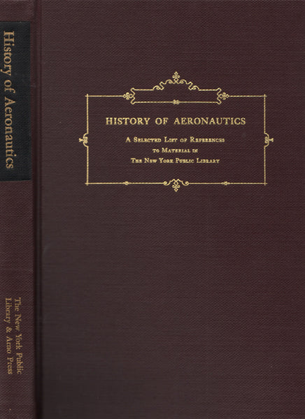 Gamble - History of Aeronautics (Bibliography reprint) - 1971