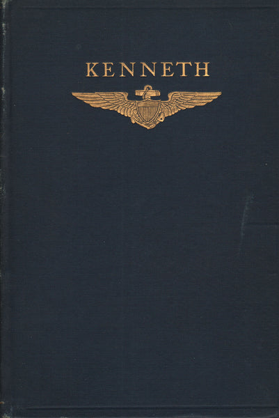 KENNETH - WWI Naval Pilot Memorial Volume - 1919