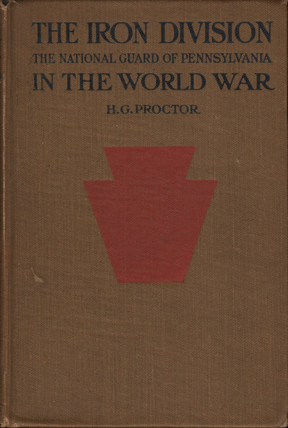 Proctor - The Iron Division in the World War - 1919