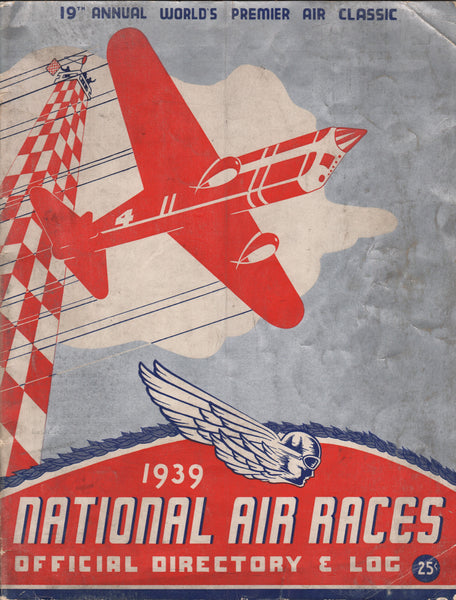 1939 Cleveland National Air Race Program