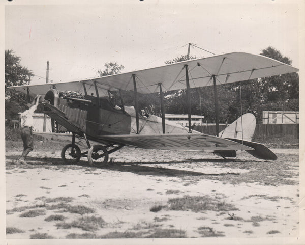 Photo of Barnstorming Jenny - circa 1920