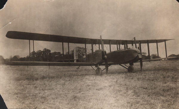 "Large Original Vintage Photo of an Avro ""Pike"" - circa 1916"