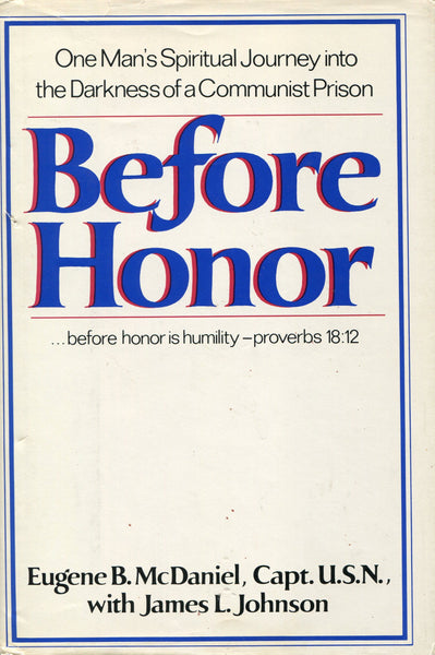 Before Honor - Eugene B. McDaniel