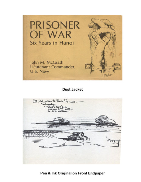 Prisoner of War - Original Endpaper Drawing