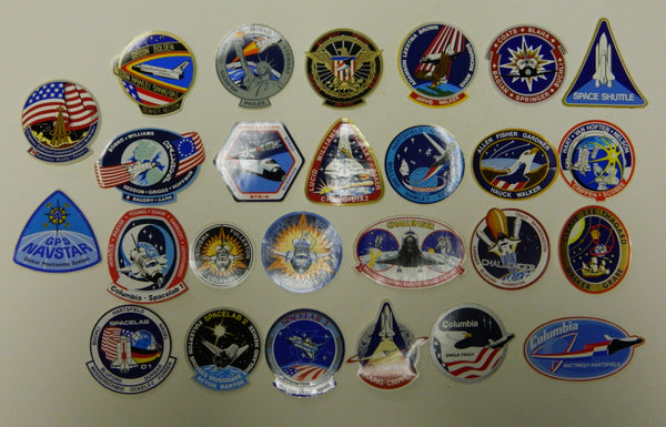 NASA Space Shuttle Decal Collection