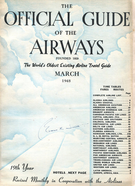 The Official Guide of the Airways - 1948