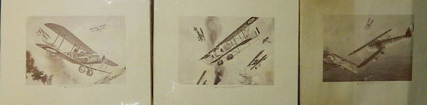Phillips Petroleum WWI Aerial Battle Prints