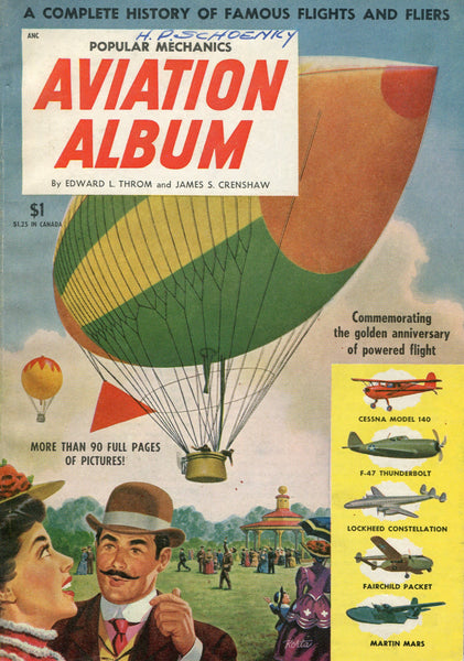 Popular Mechanics AVIATION ALBUM - 1953
