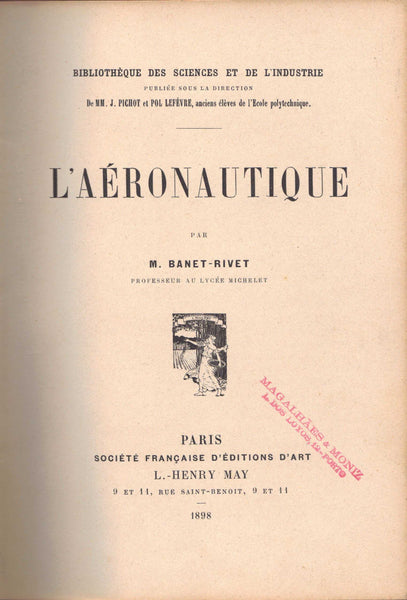 L'Aeronautique - Early Ballooning Book