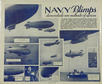 U.S. Navy Blimp Rescue Poster