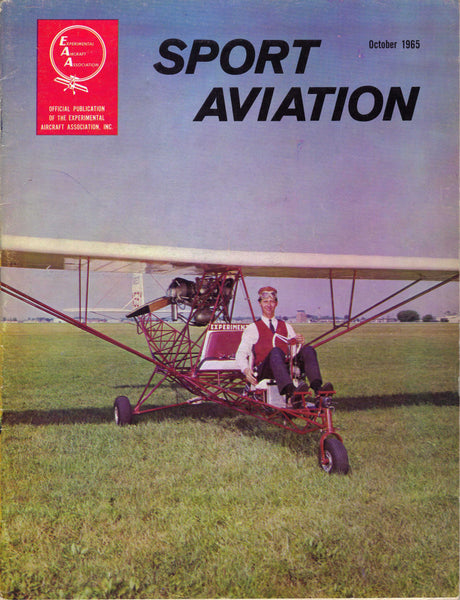 Sport Aviation - EAA, 126 Issues, 1960s-70s