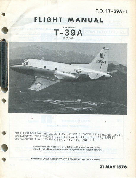 T-39A Flight Manual