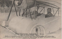French Postcard - Aviator Train in the Paris-Madrid Race 1911