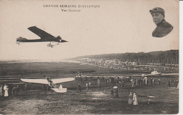 French Postcard -  Air Meet circa 1910