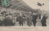 French Postcard - M. Tissandier at Port Meet 1910