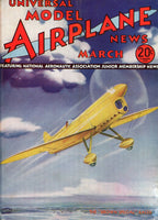 Universal Model Airplane News - 7 issues - 1930's