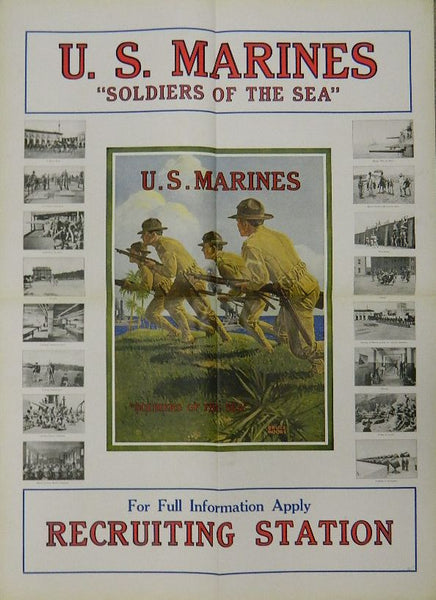 WWI USMC Recruiting Poster