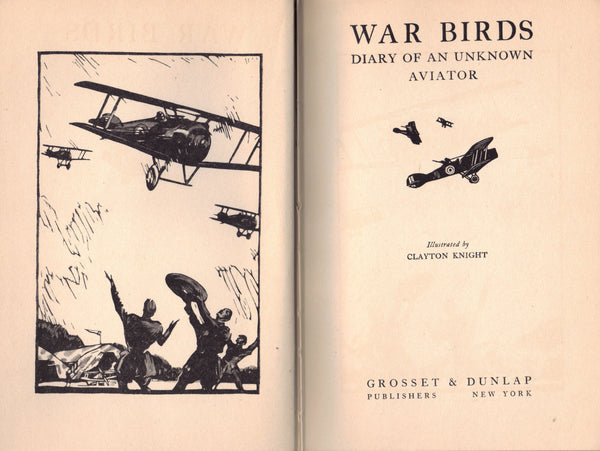 War Birds, Diary of an Unknown Aviator