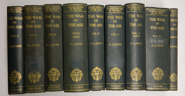 War in the Air - 9 volumes