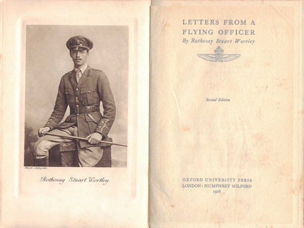 Letters from a Flying Officer - R.S. Wortley, RAF WWI