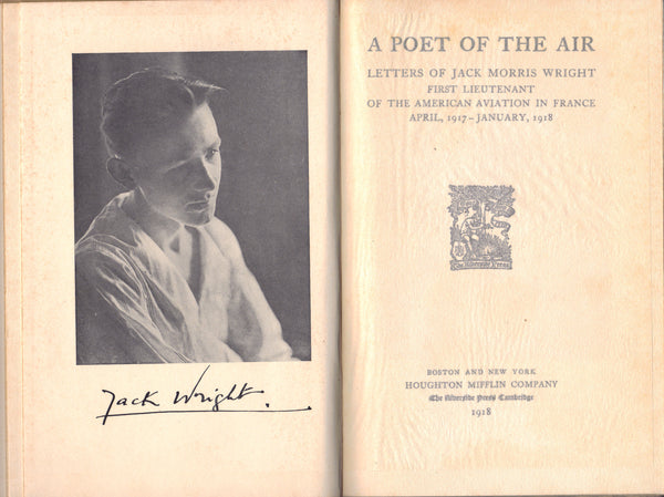 A Poet of the Air - Letters of Jack Wright