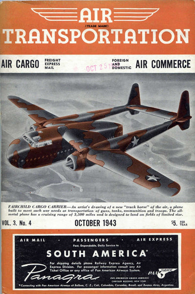 Air Transportation - 17 issues, Small Format, 1943-45