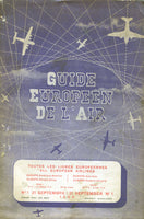 Guide Europeen de L'Air - 1950