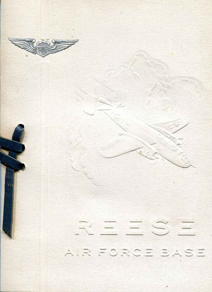 1950 Reese AFB Graduation Announcement - Class 50E