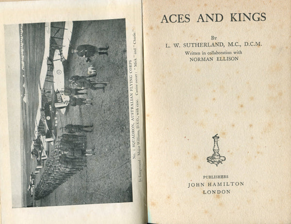 Aces and Kings - Sutherland (WWI Australian Flying Corps in Palestine)