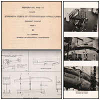 National Research Council of Canada Tech Report on Floats - 1937