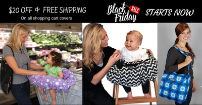 Shopping Cart Seat Cover Black Friday Sale