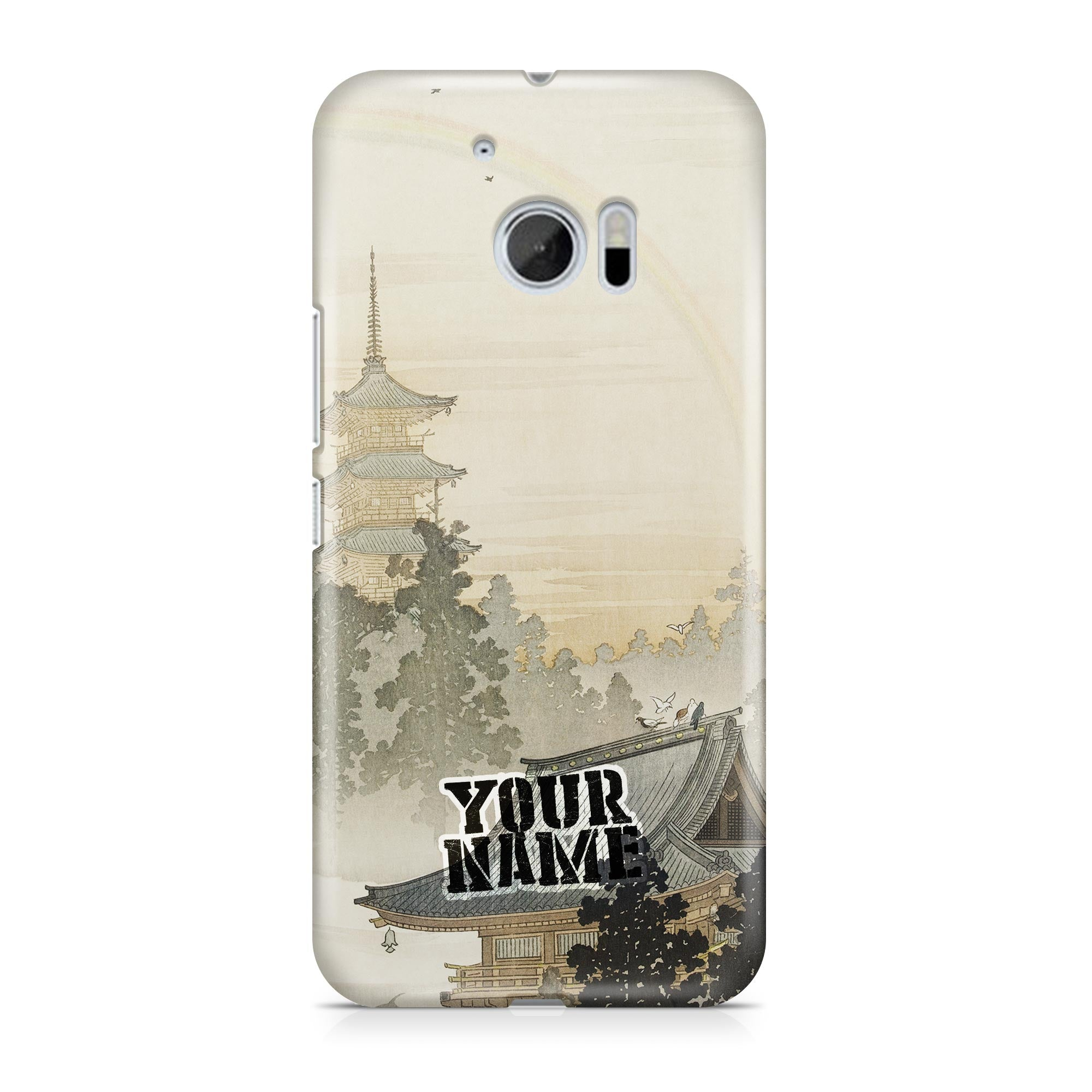 Osaka Castle Art Rainbow Roof Japanese Sun Rain Festival Phone Cases Cover