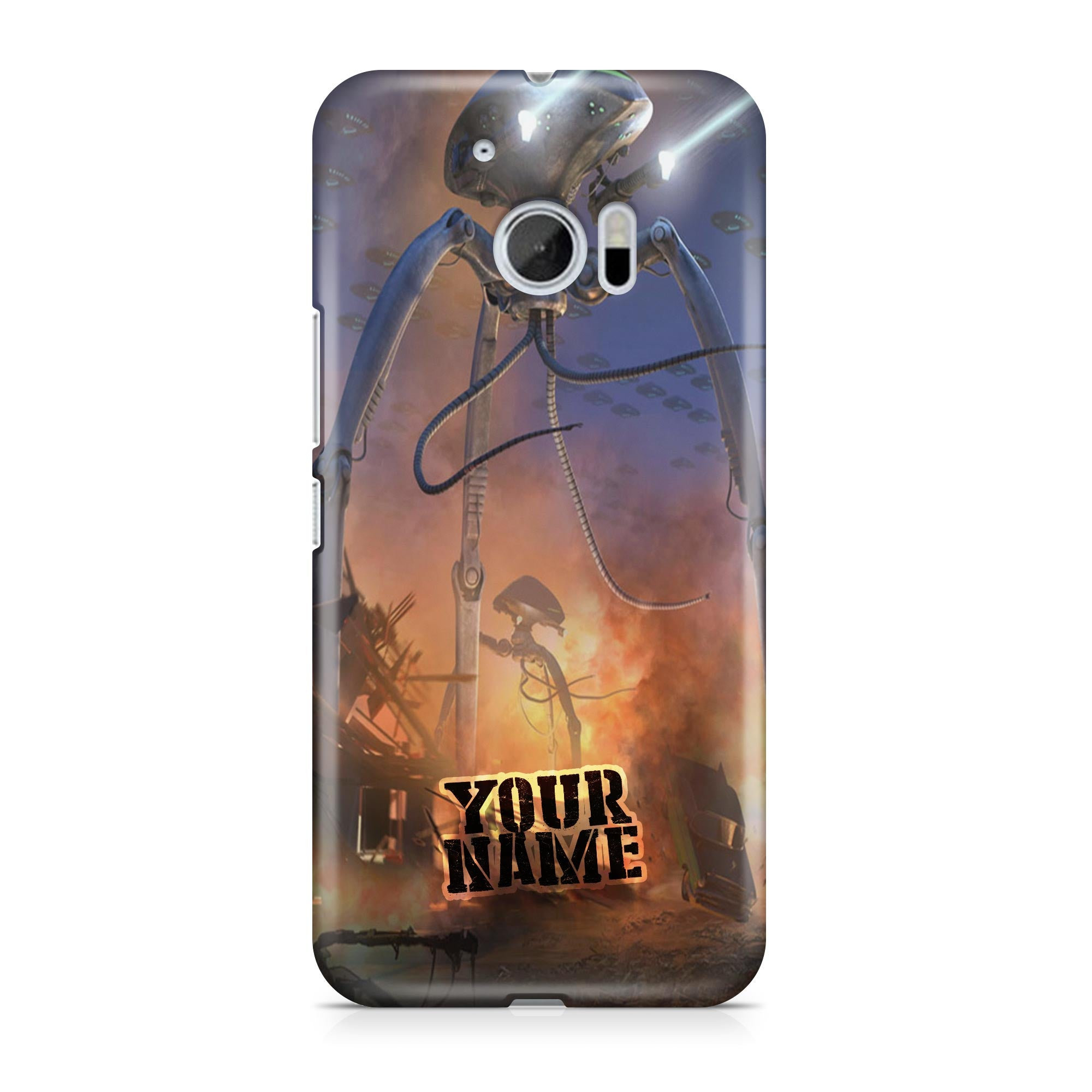 Aliens Monster Space Robot Attack World Wars Earth Phone Cases Cover