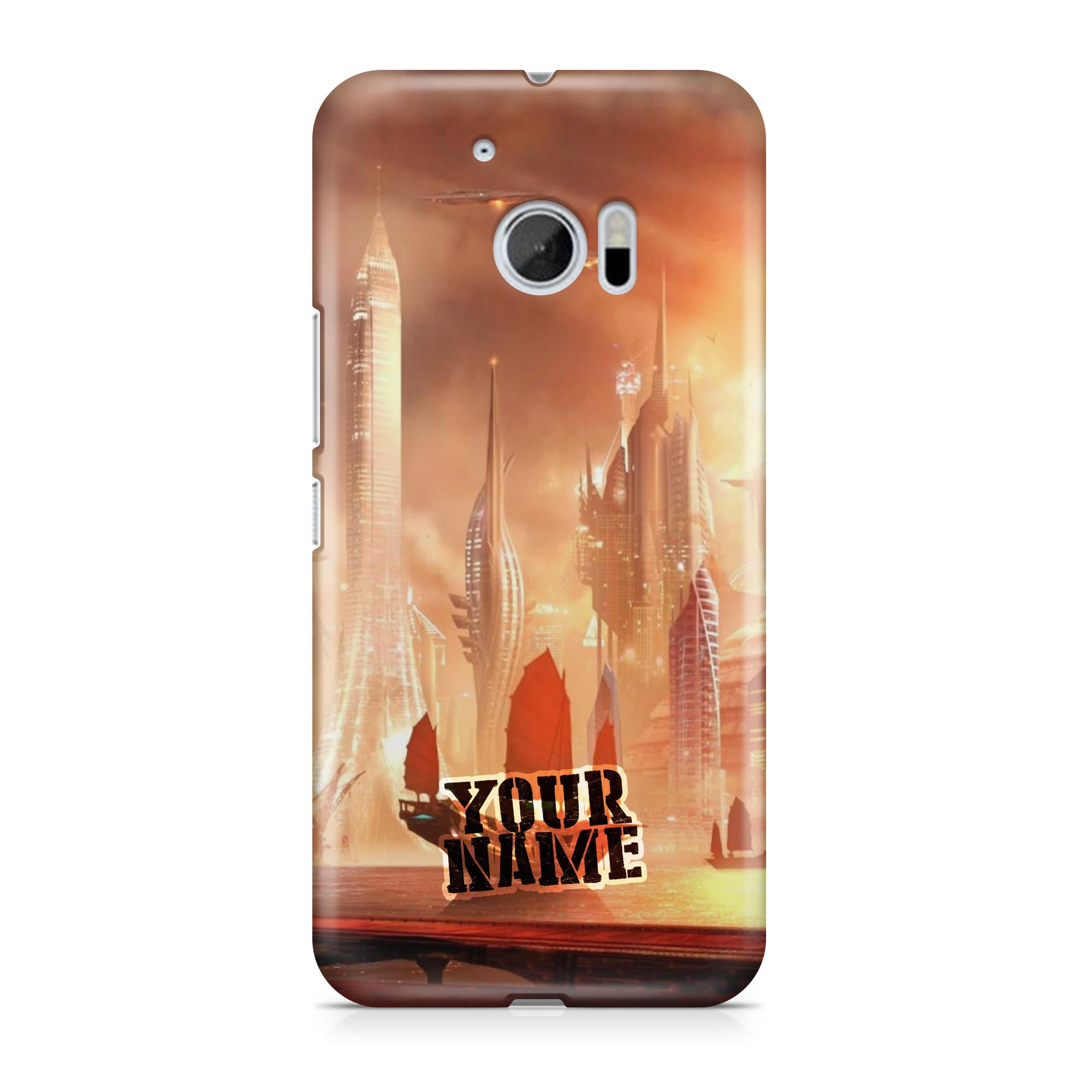 Pirate Boat Ship Future Skyscrapers Phone Cases Cover