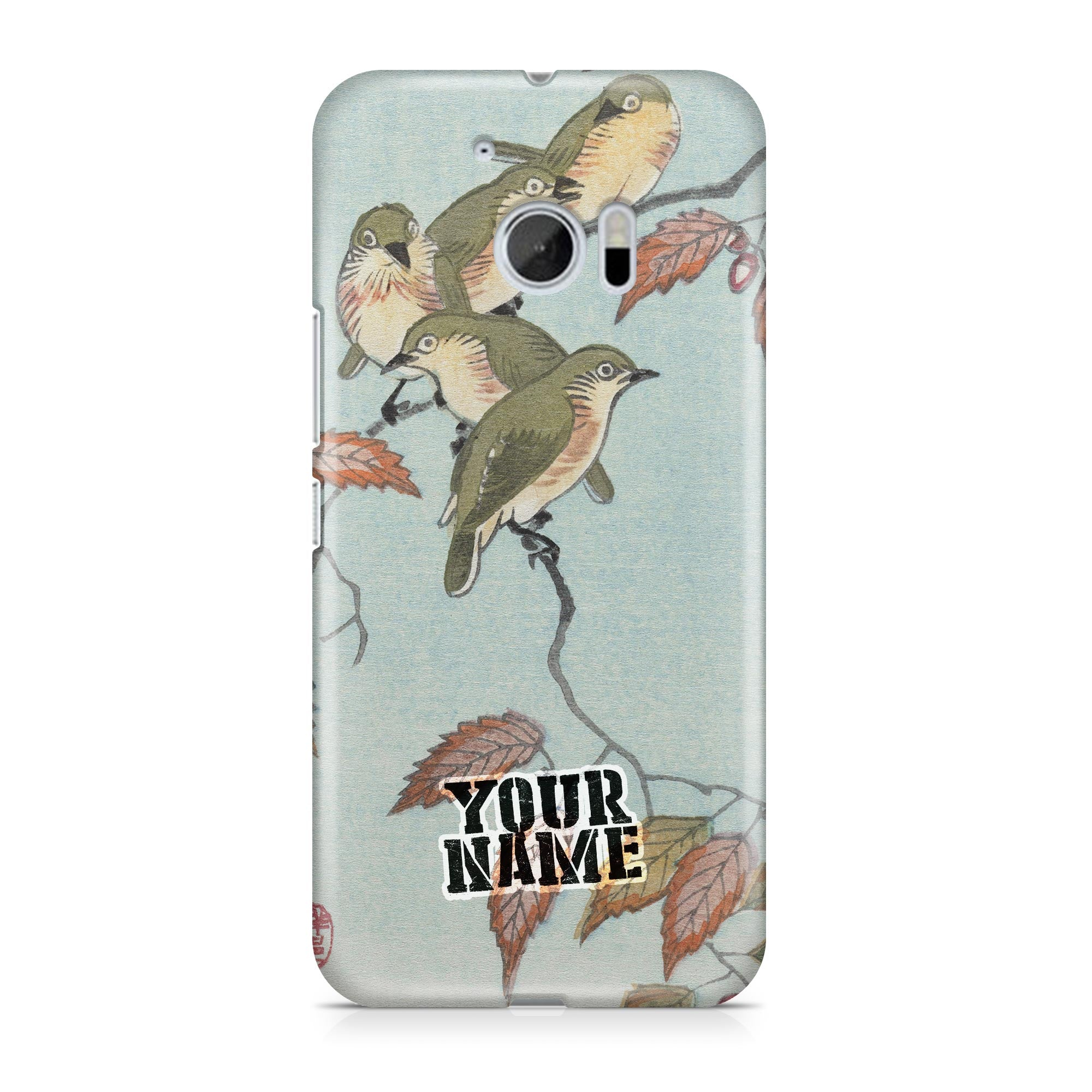 Four Birds Pidgey Green Leaf Phone Cases Cover