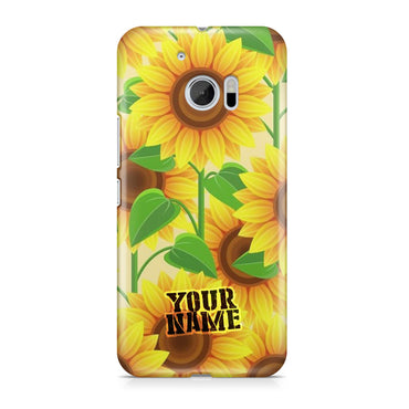 Sunflower Patterns Art Textures Wall 3D Phone Cases Cover