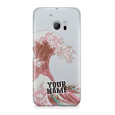 Japanese Tsunami Pink Sea Painting Phone Cases Cover