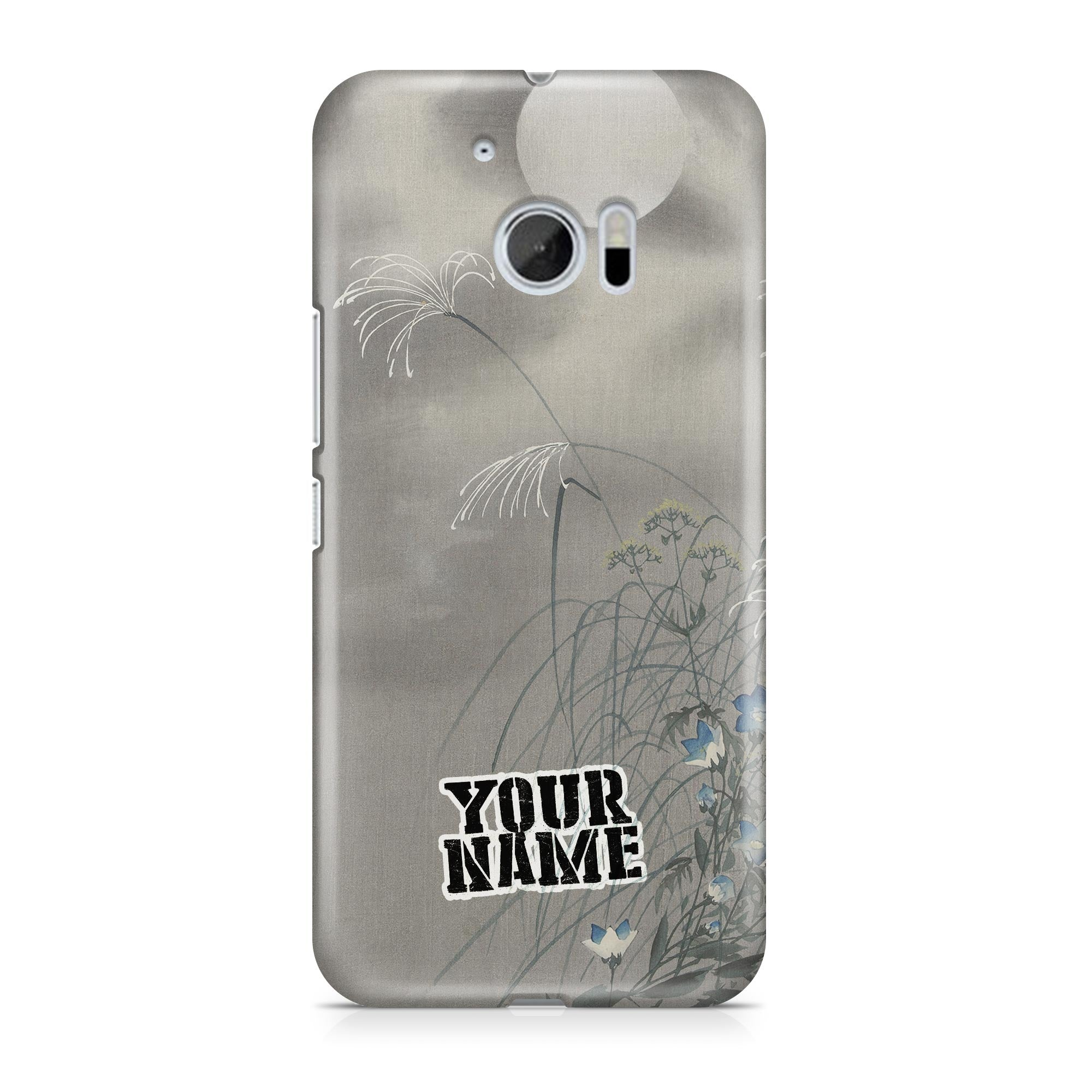 White Moon Grey Cloud Fog Japanese Art Phone Cases Cover