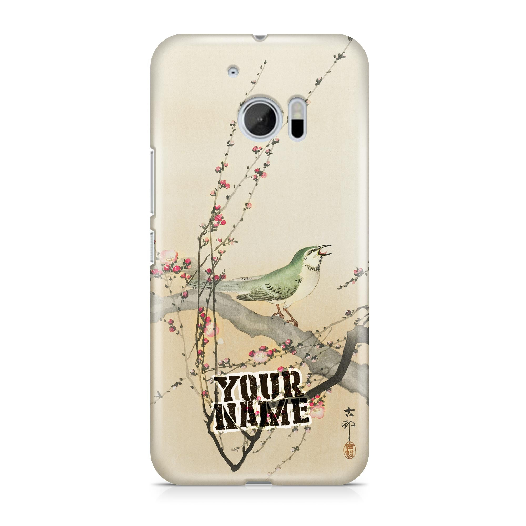 Green Birds Legendary Japanese Art Phone Cases Cover
